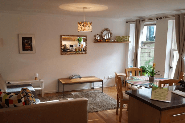 2 Bedroom Holiday Let Victorian Flat In Edinburgh